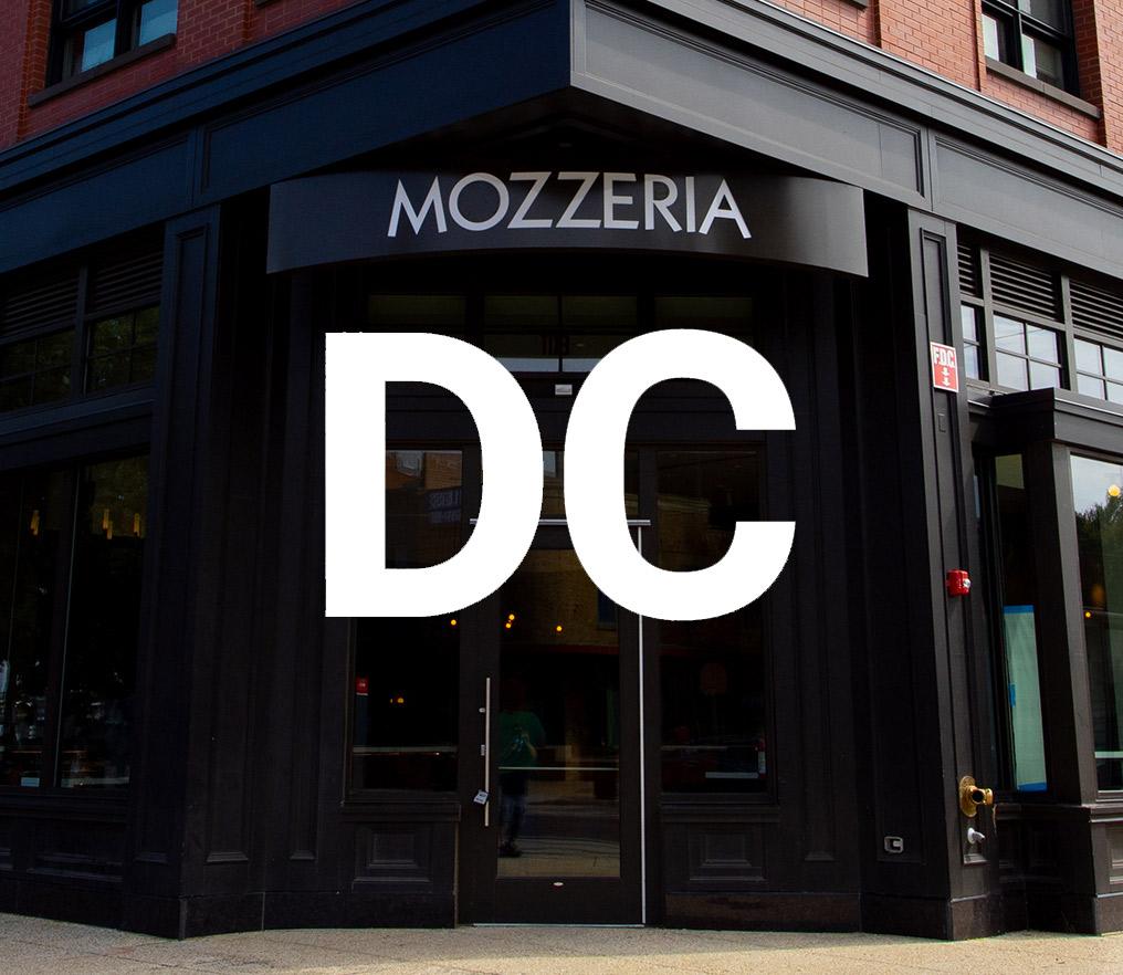 Mozzeria D.C. Storefront